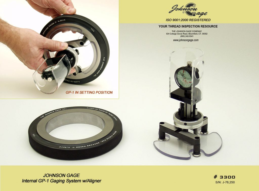 Internal Thread Inspection Systems Johnson Gage